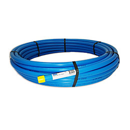 Plumbsure Push Fit MDPE Plastic Pipe (Dia)20mm (L)25M