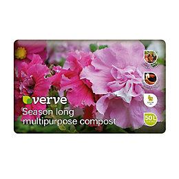 Verve Season Long Multipurpose Compost 50L