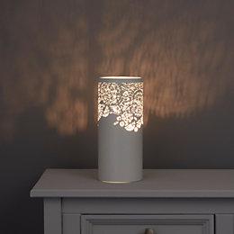 Livy Modern White Matt Table Lamp