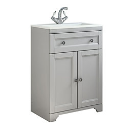 Cooke & Lewis Chadleigh Matt Light Grey Vanity
