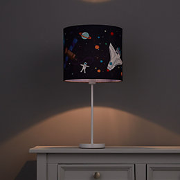 Colours Spaceship Multicolour Light Shade (D)250mm