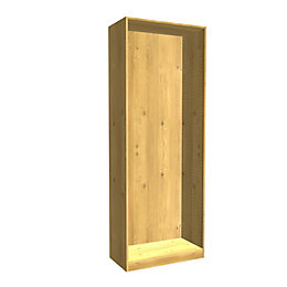 Darwin Modular Oak Effect Wardrobe Cabinet (H)2004mm (W)750mm