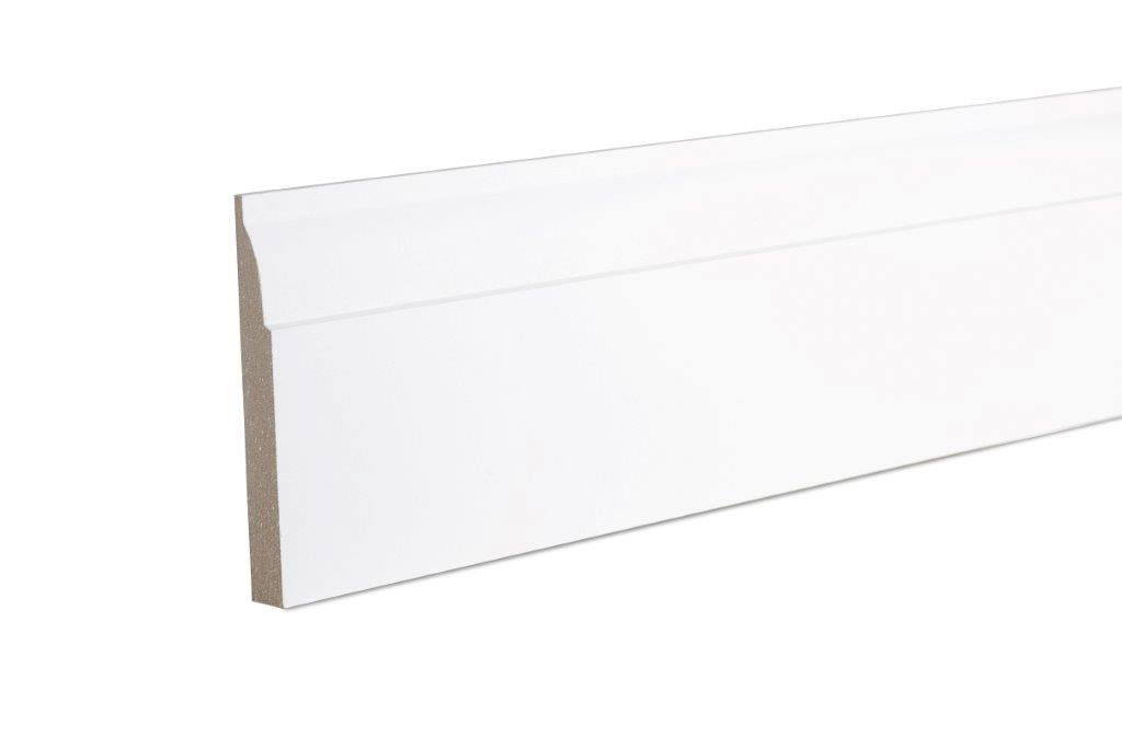 Ovolo Skirting (T)14.5mm (W)94mm (L)2400mm, Pack of 1