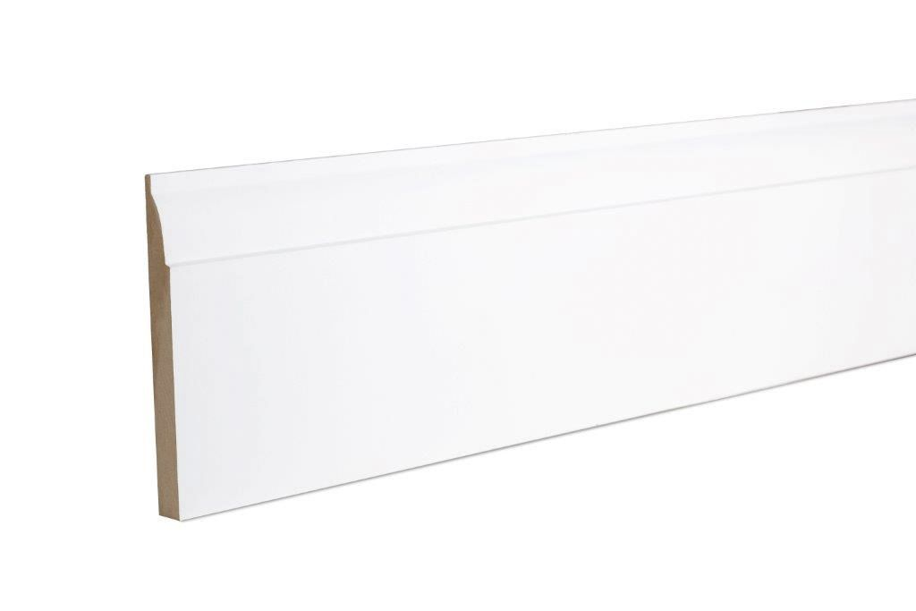 Ovolo Skirting (T)14.5mm (W)144mm (L)2400mm Pack, Pack of