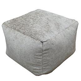 Elite Plain Mink Bean Bag Cube