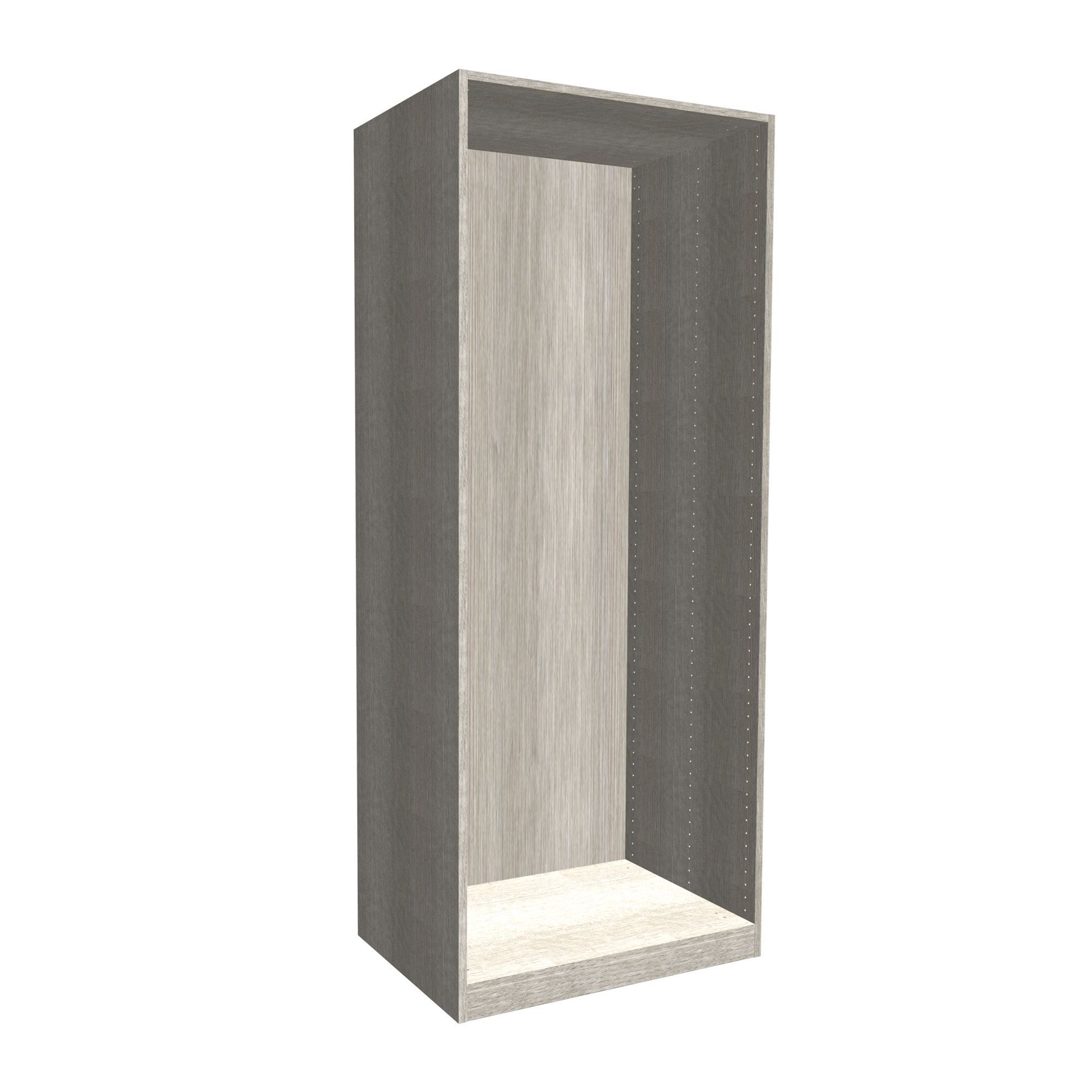 Oak Effect Kitchen Cabinets: Form Darwin Grey Oak Effect Wardrobe Cabinet (H)2004mm (W