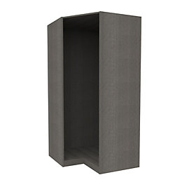 Darwin Grey Oak Effect Corner Cabinet (H)2004mm (W)998mm