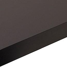 38mm Edurus Black Matt Square edge Laminate Worktop
