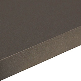 38mm Edurus Laminate Zinc Black Matt Square edge