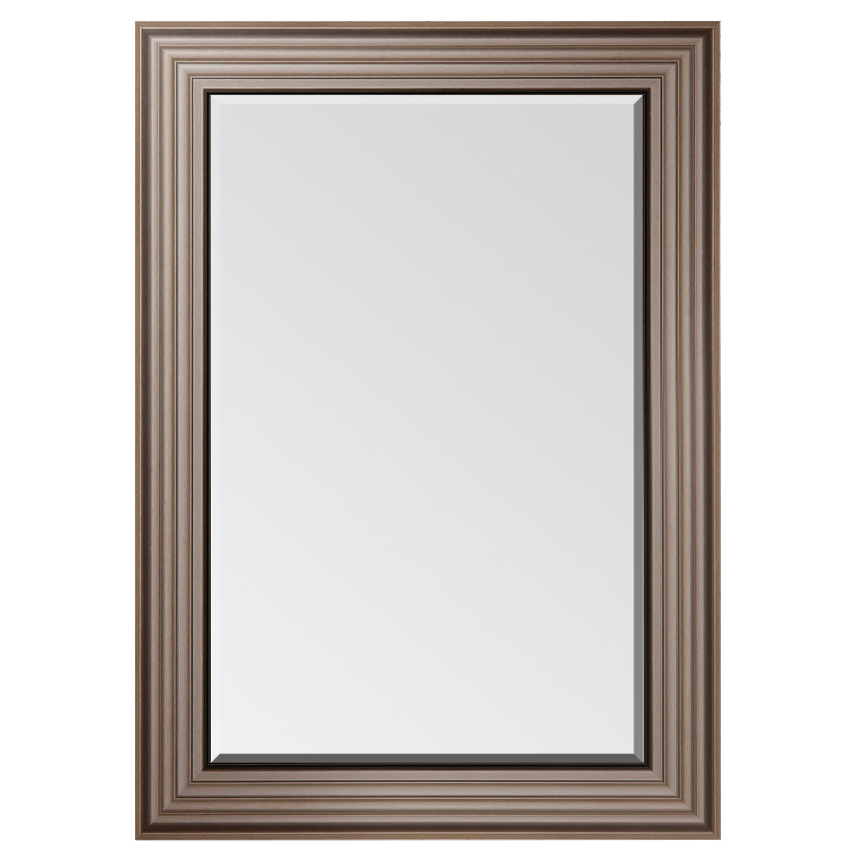 Colours Laverna Foil Wrap Framed Rectangular Mirror (H