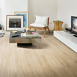 Natural White Oak Effect Premium Luxury Vinyl Click