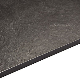 12.5mm Exilis Laminate Zinc Argente Slate Effect Square