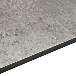 12.5mm Exilis Laminate Grey Woodstone effect Square edge