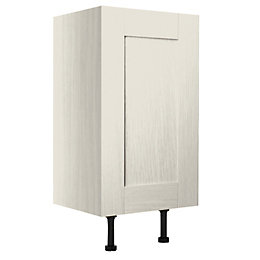 Cooke & Lewis Sorella Textured Mussel Single Door