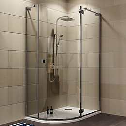Cooke & Lewis Luxuriant Offset Quadrant Shower Enclosure