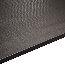 12.5mm Exilis Laminate Brasero Black Wood Effect Square