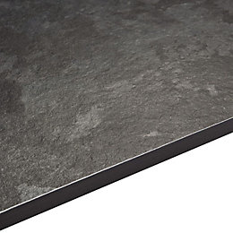 12.5mm Exilis Laminate Lave Granite Effect Square Edge