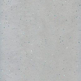 Astral dove Stone effect Grey Vanity top, (W)365mm