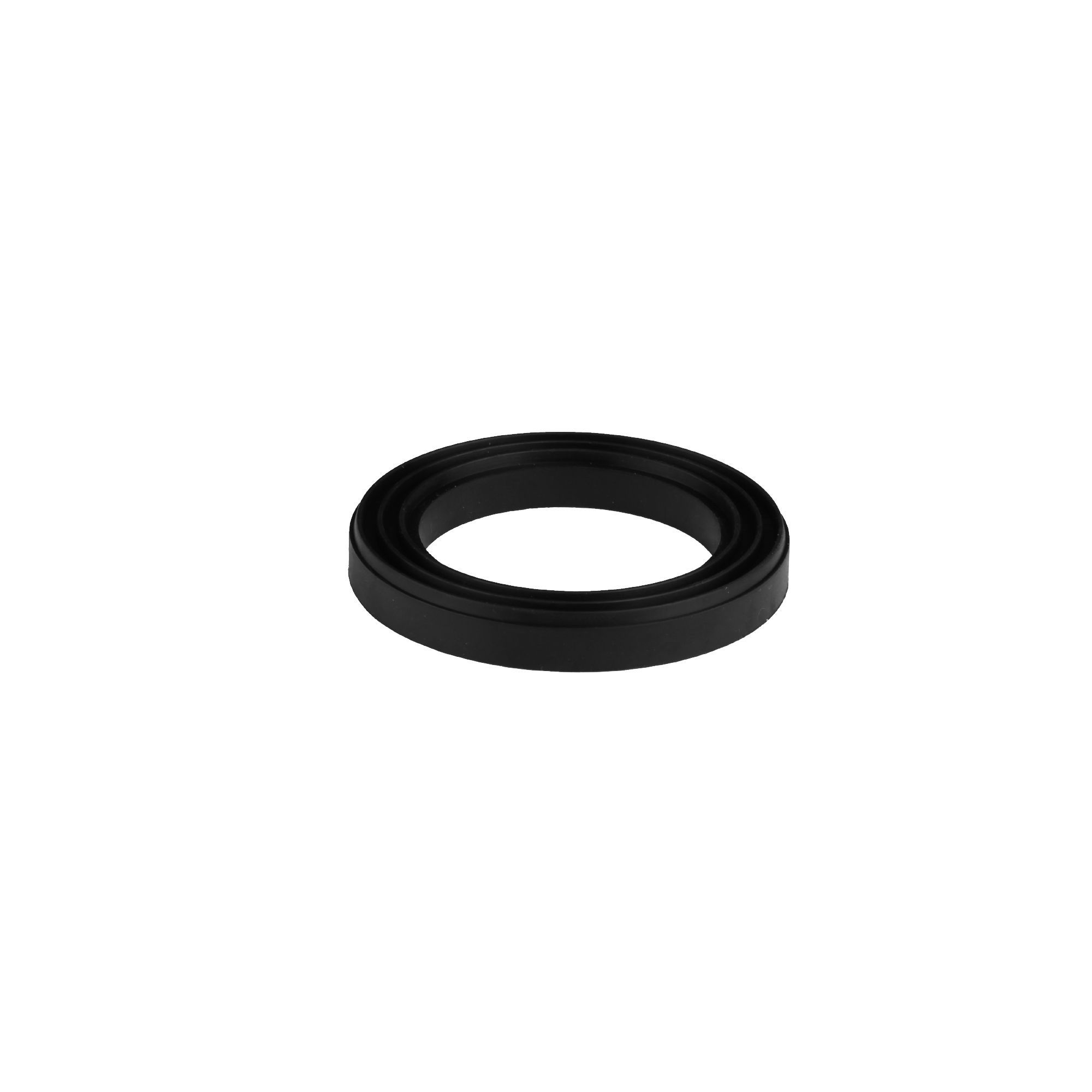 Diall Black Sbr Washers For Dual Flush Valve Set Of 1