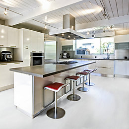 Natural Whitewash effect Luxury vinyl click flooring 2.8m²