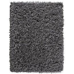 Colours Sapphire Grey Plain Rug (L)2.3M (W)1.6 M