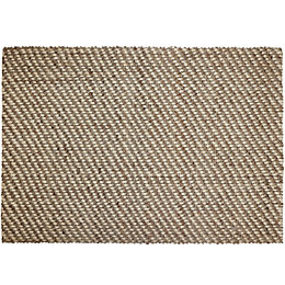 Colours Eila Natural Plain Rug (L)2.3M (W)1.6 M
