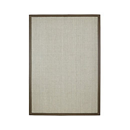 Colours Frydah Green & Grey Border Rug (L)2.3M
