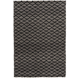Colours Cora Black & White Geometric Rug (L)1.7M