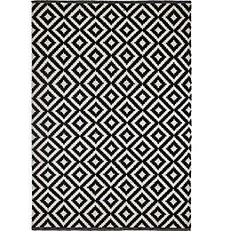 Colours Harrietta Black & White Geometric Rug (L)2.3M