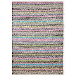 Colours Macayla Multicolour Striped Rug (L)2.3M (W)1.6 M