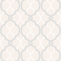 Colours Logan Cream Geometric Wallpaper