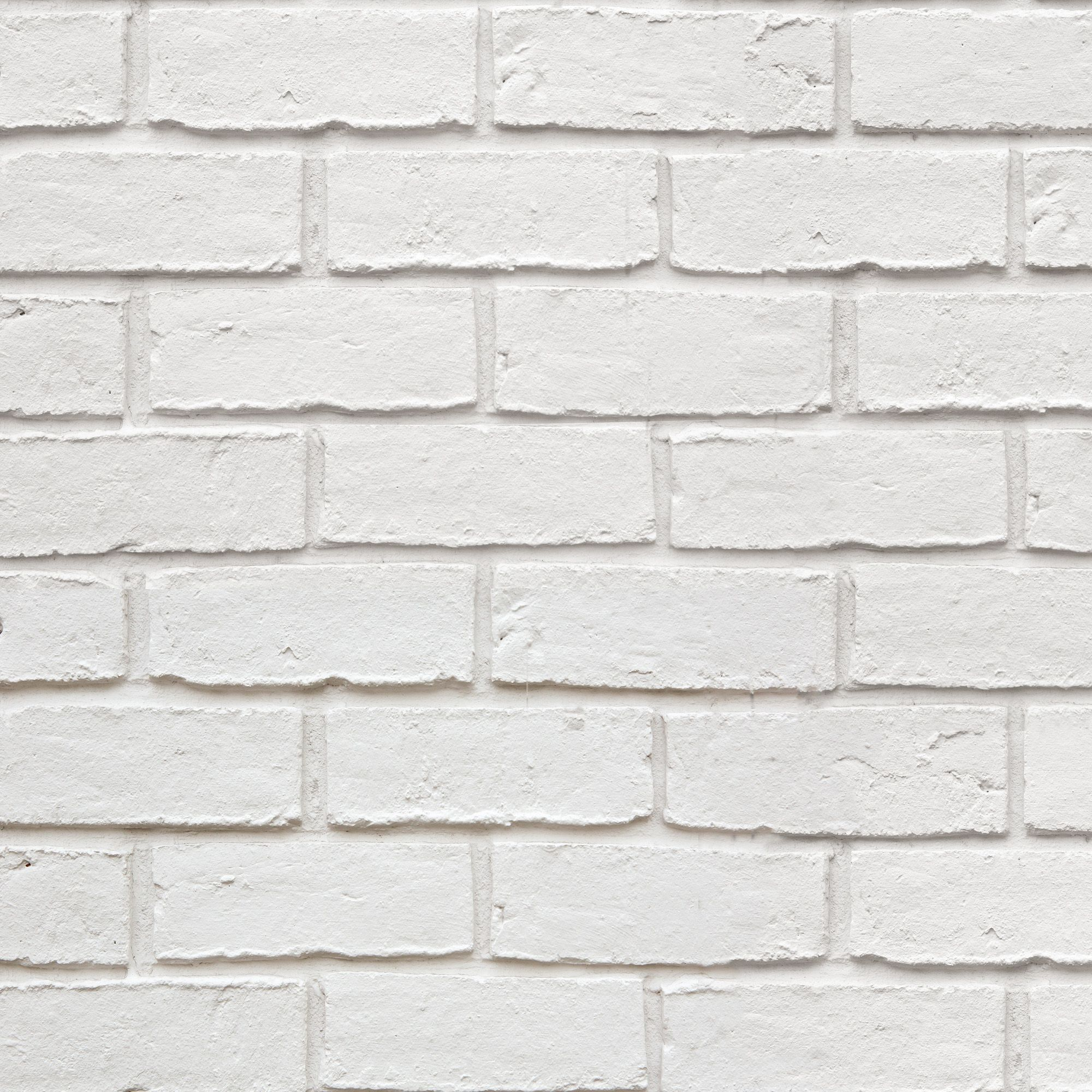 White Brick Wallpaper Kitchen: Colours White Faux Brick Textured Wallpaper