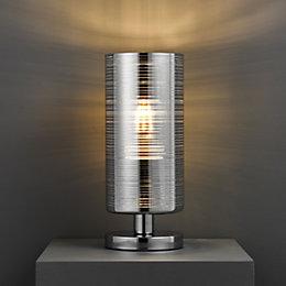 Jojo Modern Chrome Effect Table Lamp