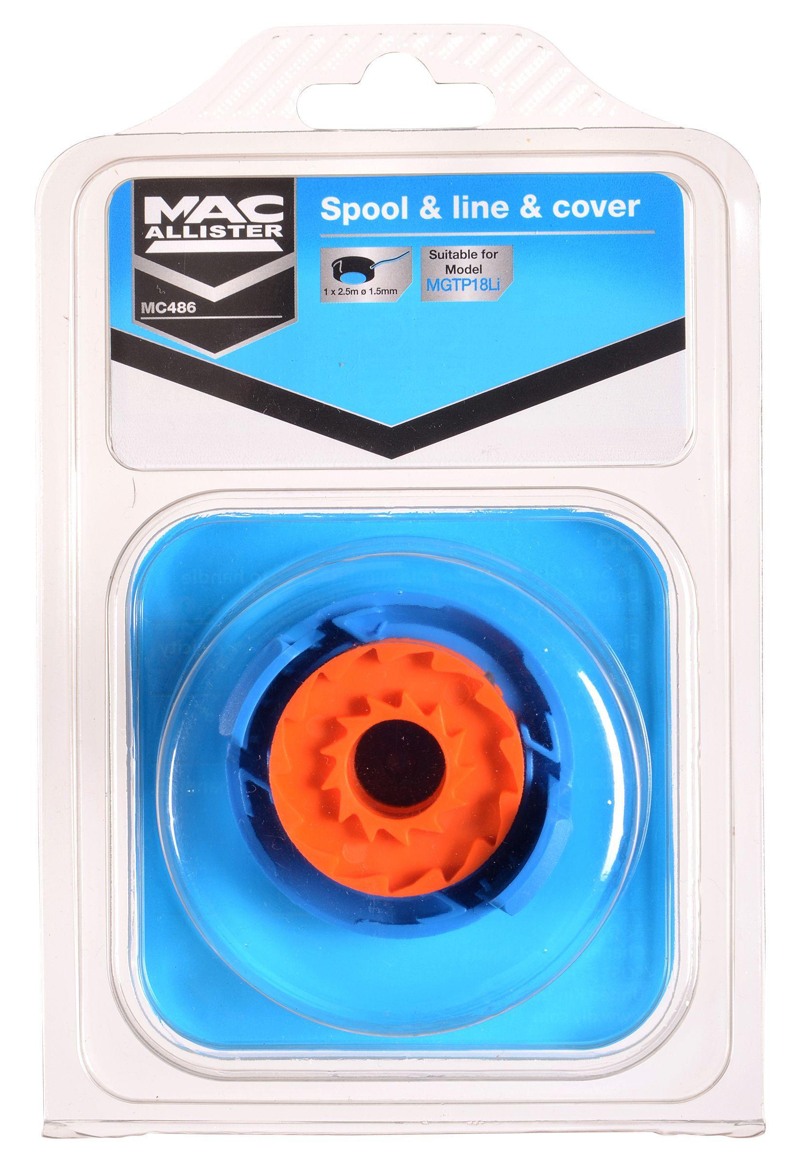 Mac Allister MGTP18Li Spool & line | Departments | DIY at B&Q