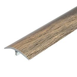 Colours Natural Grey effect Threshold trim 90 cm