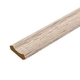 Fine grain oak MDF Scotia trim 2m