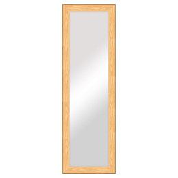 Colours Andino bullnose Oak effect Framed Rectangular Full