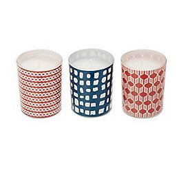Abstract Unscented Votives, Set of 3