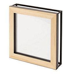 Oak Effect Box Wood Single Photo Frame (H)198mm