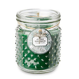 Dotted Jungle Harlequin Jar Candle