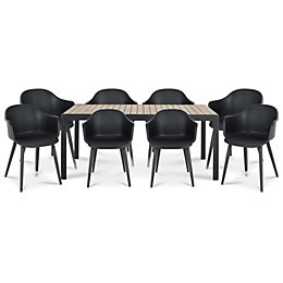Annecy 8 seater Dining set