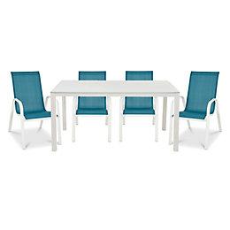 Janeiro Metal 4 seater Dining set