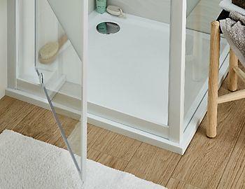 Cooke & Lewis Naya pivot shower door
