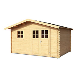 12x10 TAMAN Apex roof Tongue & groove Wooden