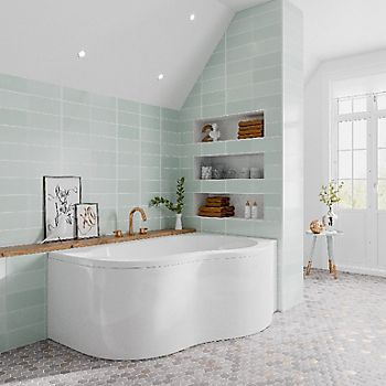 Choosing A Wall Covering For Your Bathroom Ideas Advice Diy At B Q