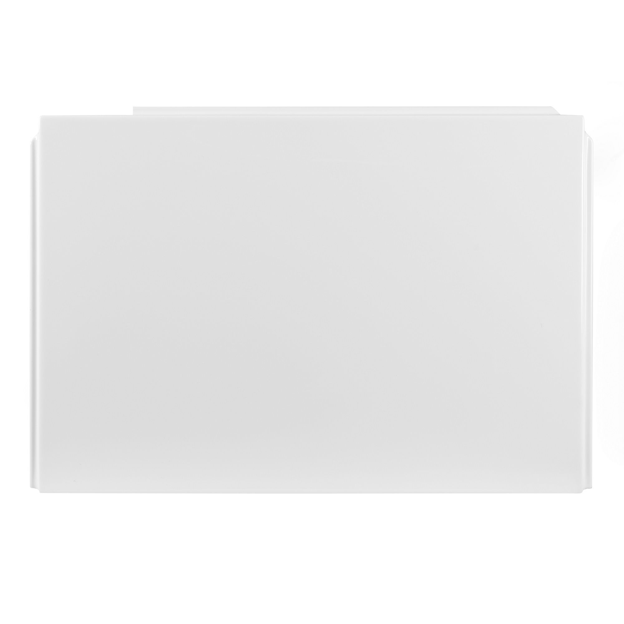 Cooke Lewis Spacesaver White Curved Front Bath Panel W 1700mm Departments Diy At B Q
