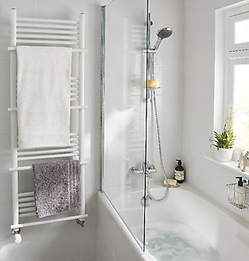 Standard ladder style towel radiator