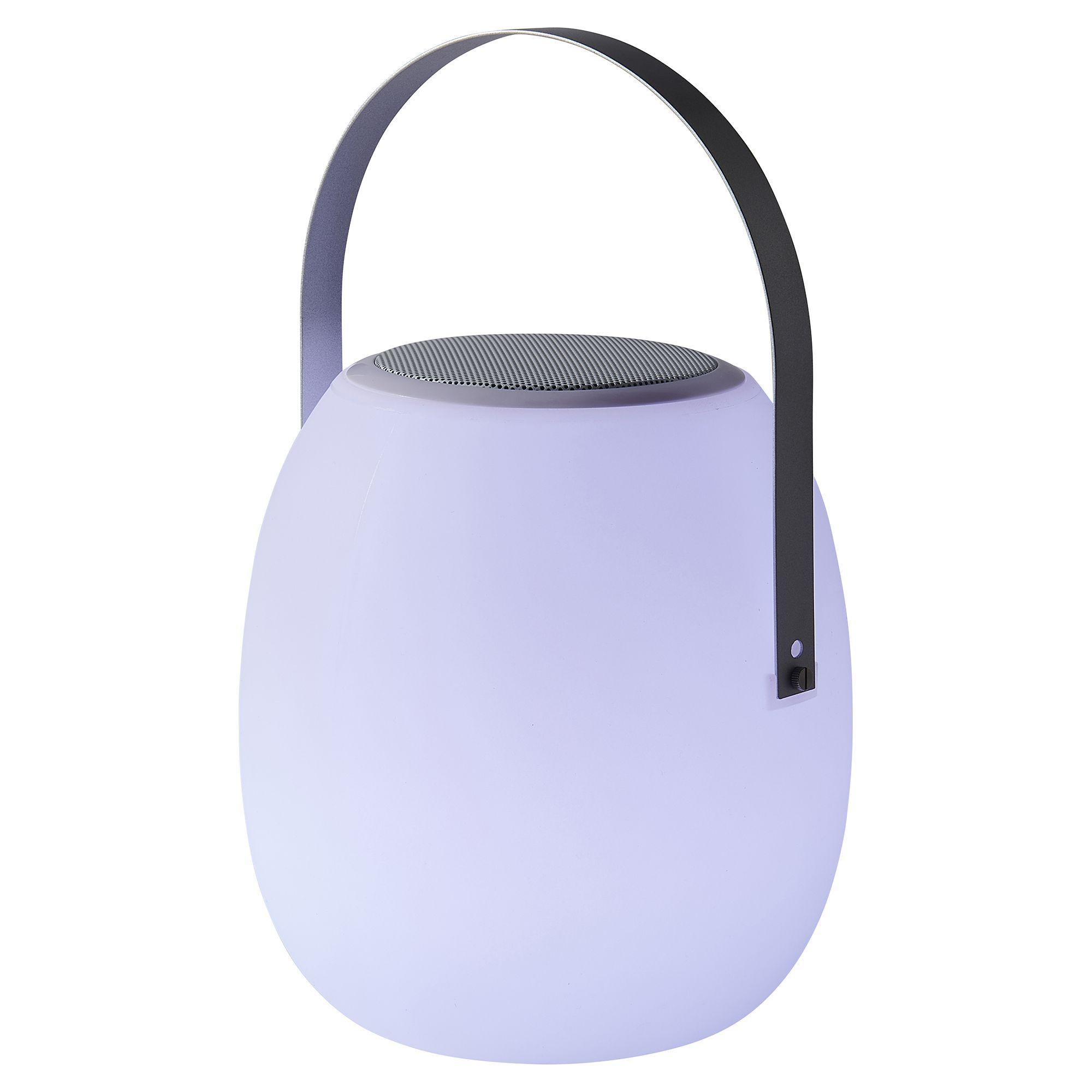Multicolour Led External Bluetooth Speaker Light Departments Diy At B Q