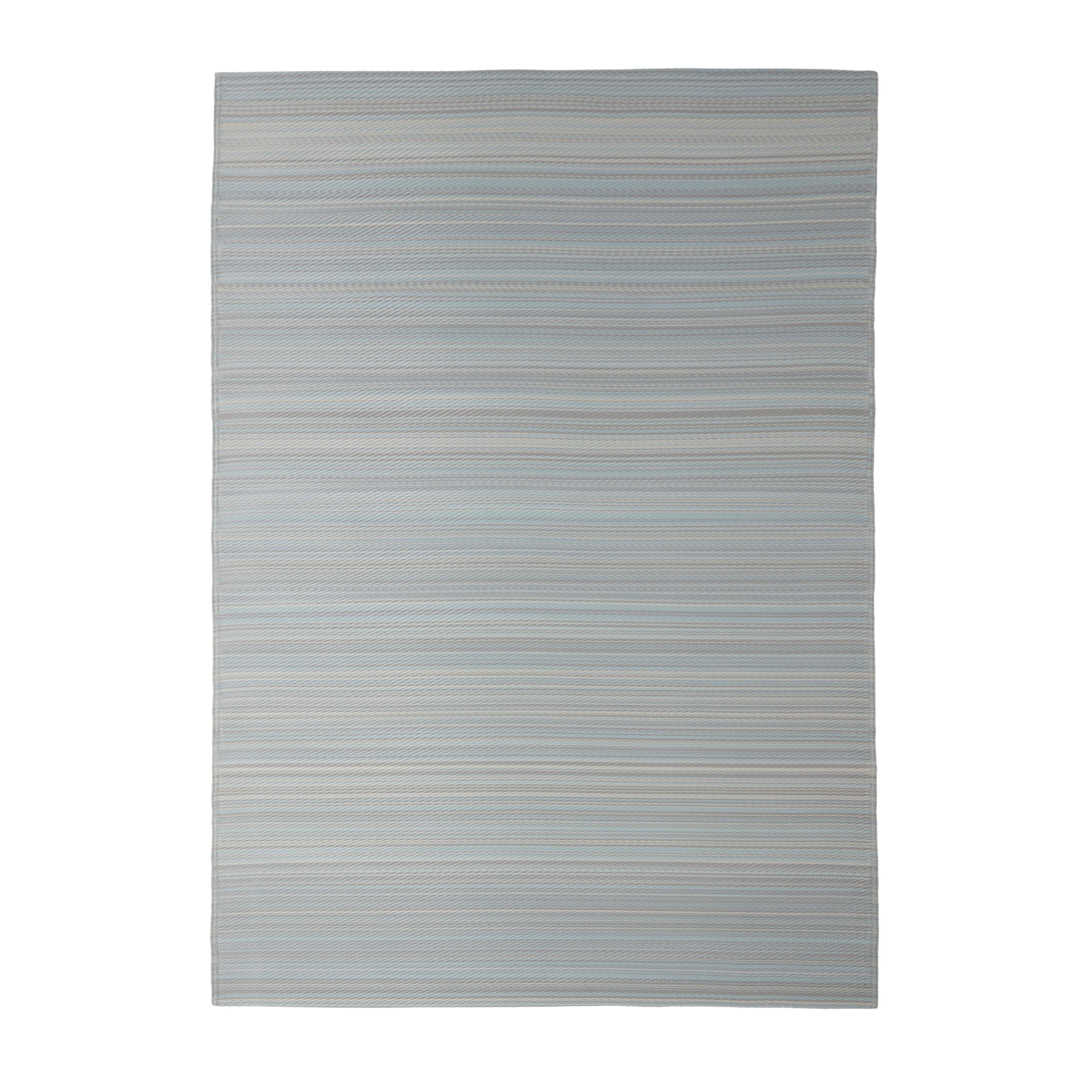 Blooma Striped Grey Rug L 2 3m W 1 6m
