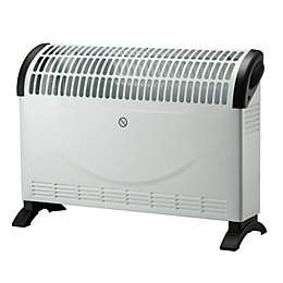 2000W White Convector heater with Quick Heat